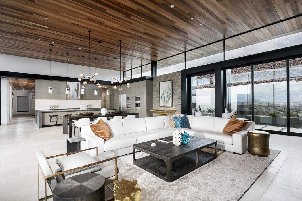 Ascaya This is the main living area of Ascaya's Inspiration Home designed by SB Architects. It is located at 13 Cloud Chaser in Ascaya. Ascaya's Inspiration Homes are being built by its develope ...