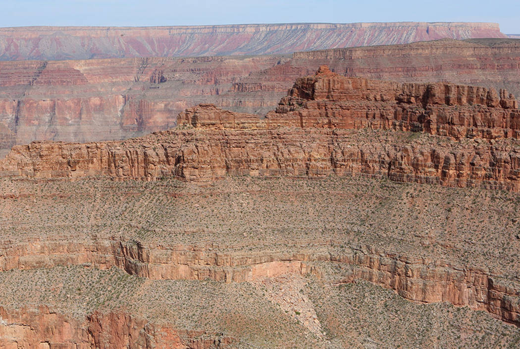 Grand Canyon West in Peach Springs, Ariz., in 2017. (Bizuayehu Tesfaye Las Vegas Review-Journal)