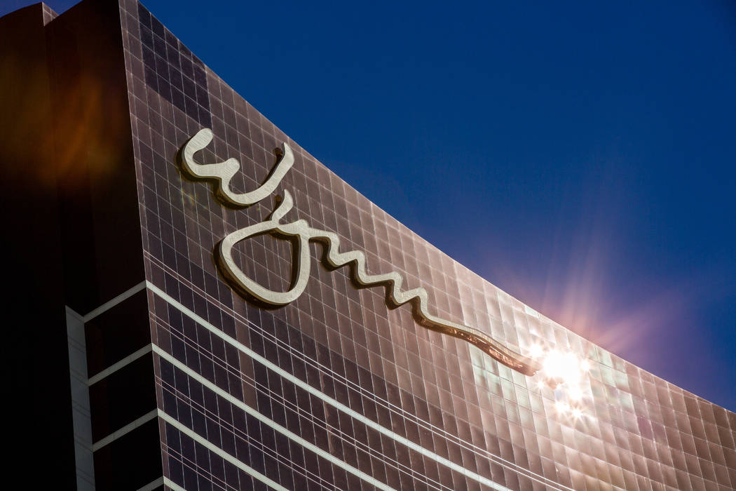 The Wynn Las Vegas on South Las Vegas Boulevard on Wednesday, Feb. 7, 2018. (Patrick Connolly Las Vegas Review-Journal) @PConnPie