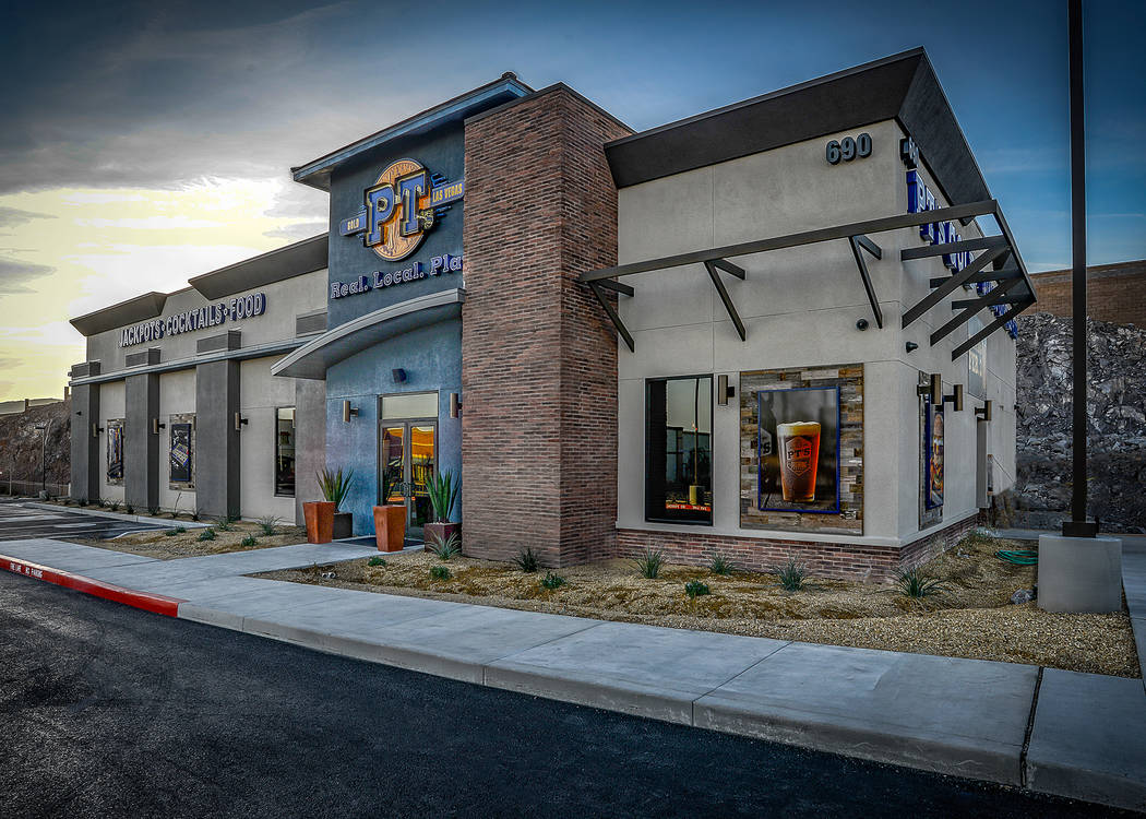 PT's opened a new location opened near the intersection of Maule Avenue and Fort Apache Road. (Golden Entertainment)