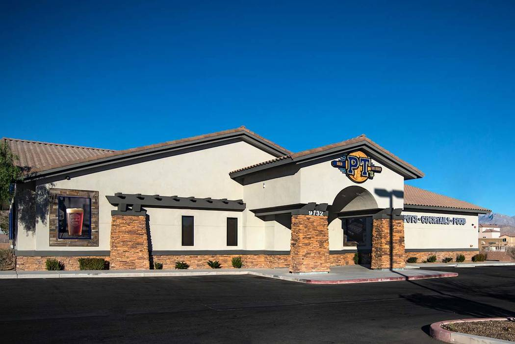 PT's opened a new location opened near the intersection of Green Valley Ranch and Horizon Ridge parkways. (Golden Entertainment)