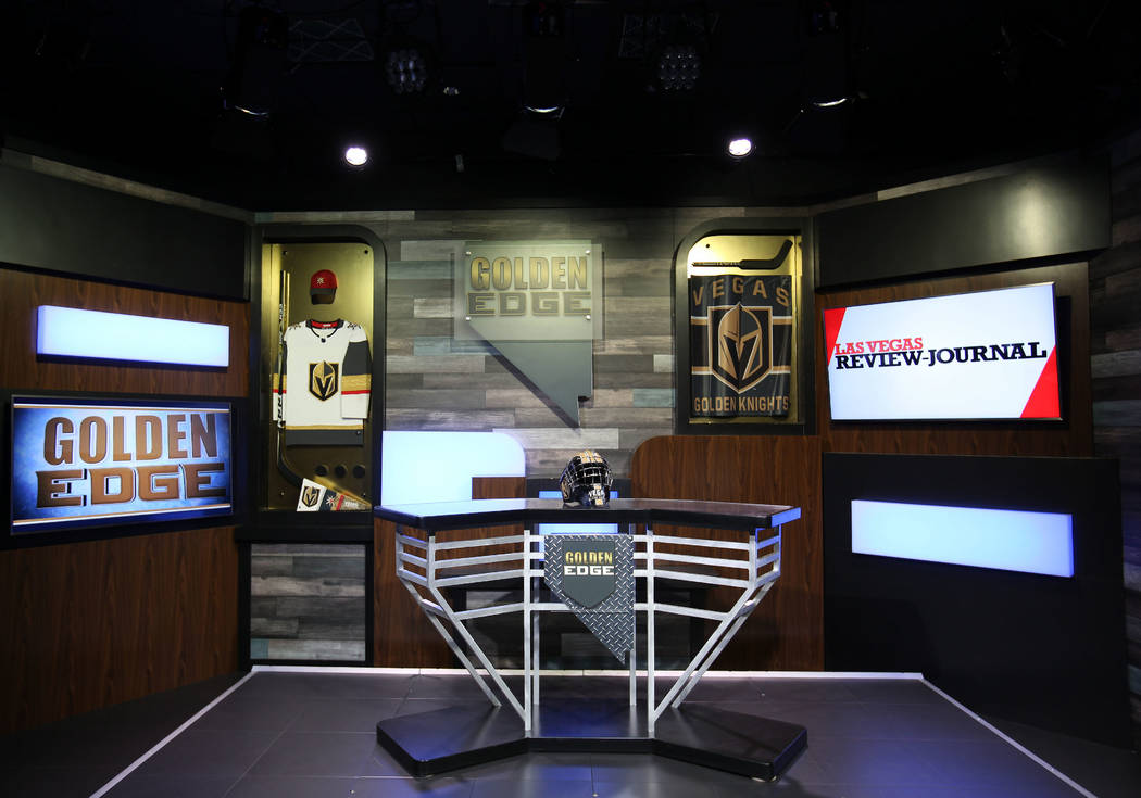 The Las Vegas Review-Journal has invested in a studio to produce live and on-demand videos. Program topics include news, politics and sports. David Guzman/Las Vegas Review-Journal @DavidGuzman1985