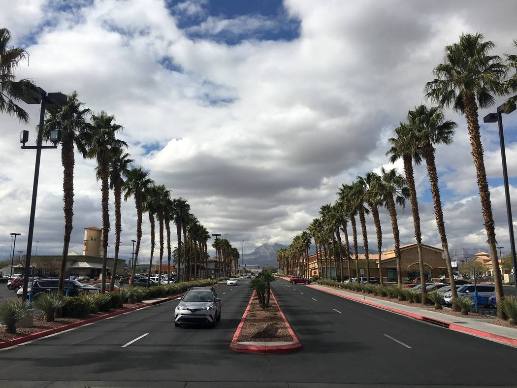 Best in the West shopping center in Las Vegas, seen on Tuesday, Feb. 13, 2018, has been sold for $87 million. (Eli Segall/Las Vegas Review-Journal)