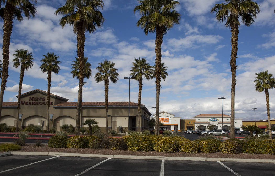 Best of the West, a strip mall on North Rainbow Road in Las Vegas, on Tuesday, Feb. 13, 2018. The mall recently sold for $87 million. (Patrick Connolly/Las Vegas Review-Journal) @PConnPie