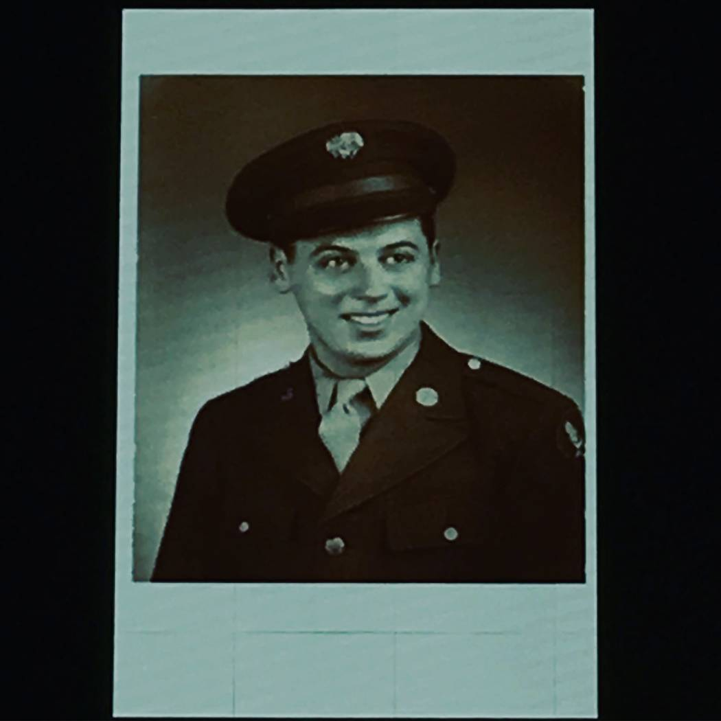 Marty Allen, shown in his days in the Air Force in World War II. (Marty Allen)