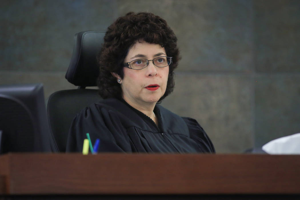 Judge Elissa F. Cadish. Brett Le Blanc Las Vegas Review-Journal
