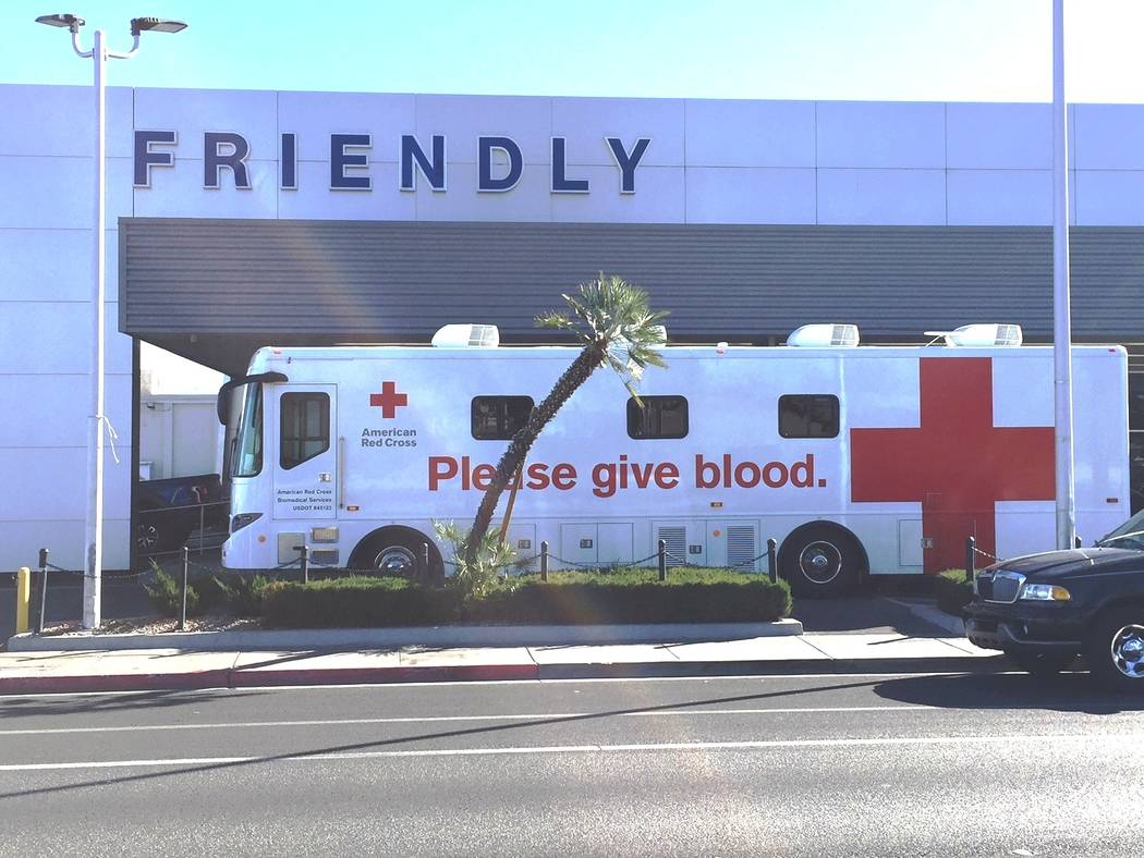 Friendly Ford Friendly Ford hosted a blood donation benefit for the American Red Cross on Feb. 6.