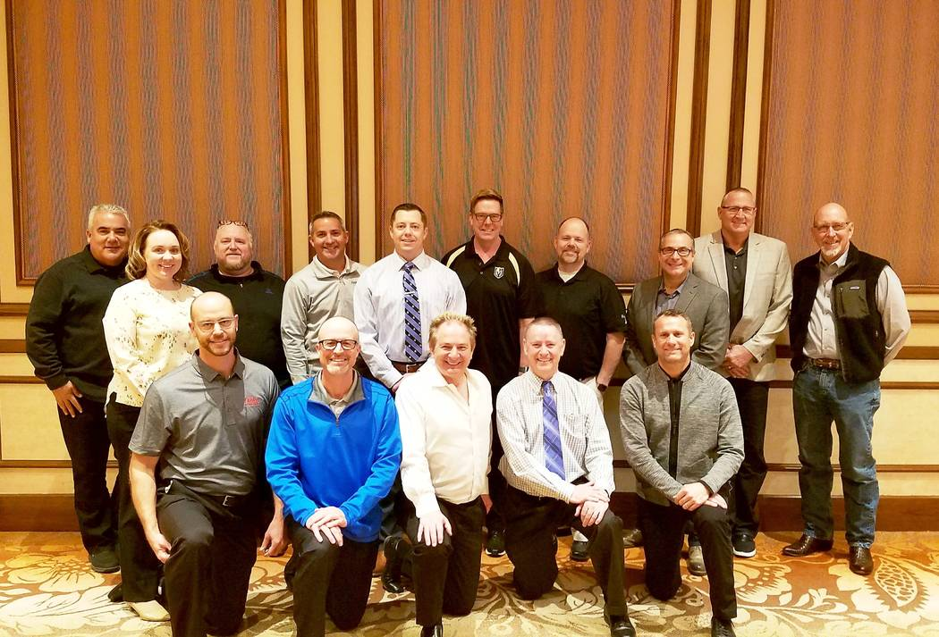 Findlay Automotive Findlay Automotive Group mounted record sales in 2017. Shown above is the Las Vegas contingent of the company's management personnel.