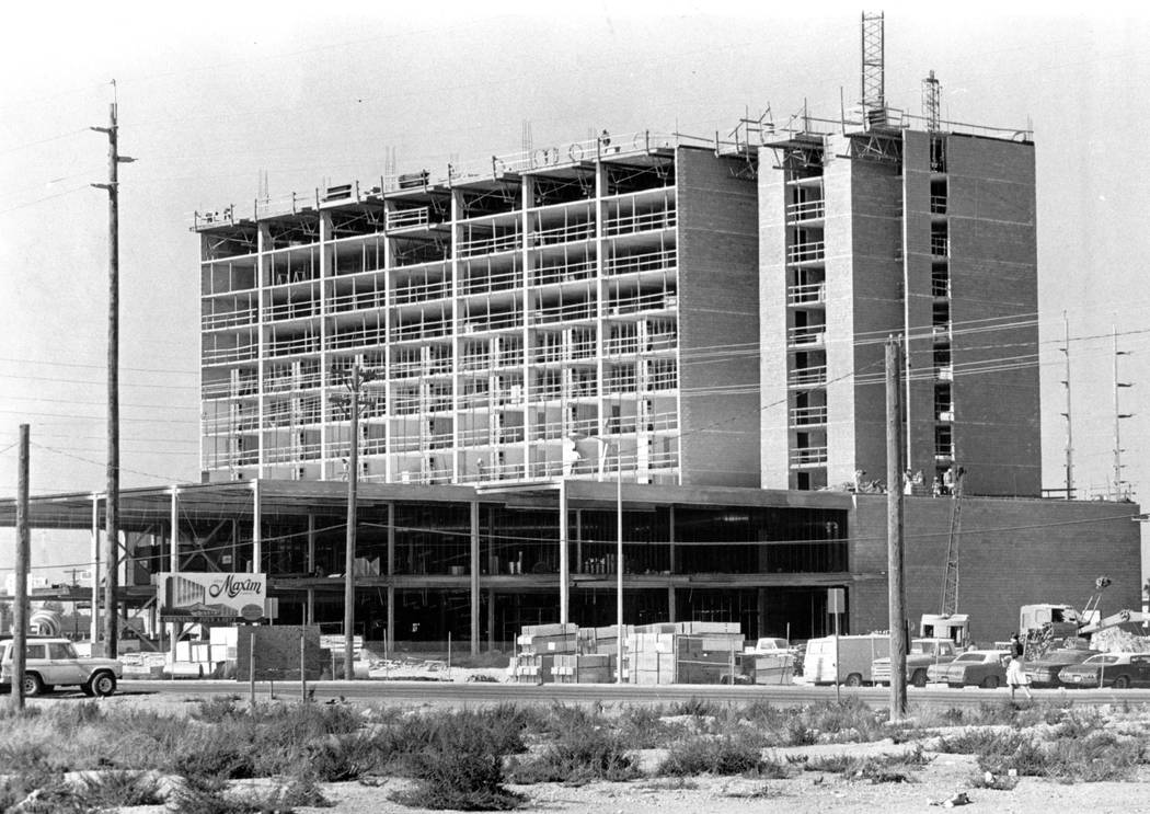 The Westin in Las Vegas originally opened on July 1, 1977 as the Maxim Hotel and Casino. (Las Vegas Review-Journal)