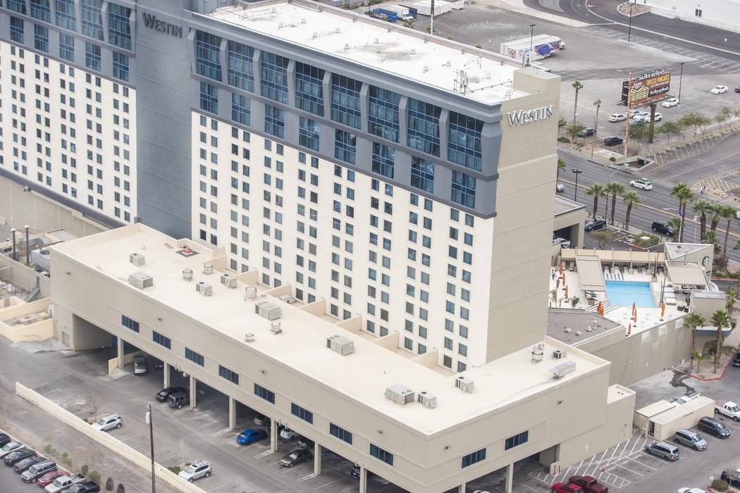 The Westin in Las Vegas on Saturday, Jan. 20, 2018.  (Patrick Connolly/Las Vegas Review-Journal) @PConnPie
