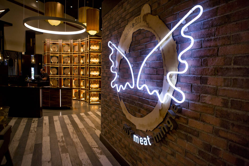 The new restaurant Jake & Eli, which replaced the casino floor at the Westin Las Vegas, on Wednesday, Feb. 14, 2018. (Patrick Connolly/Las Vegas Review-Journal) @PConnPie