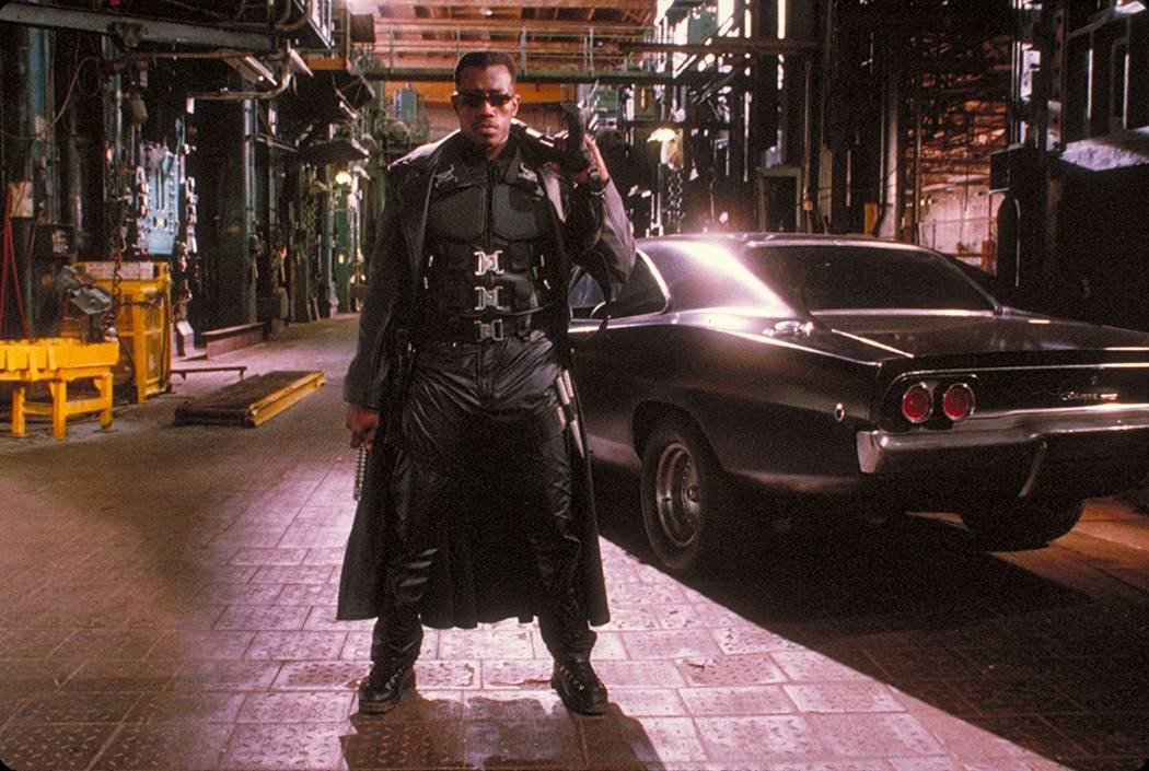 "Wesley Snipes stars in ""Blade."" (New Line Cinema)"