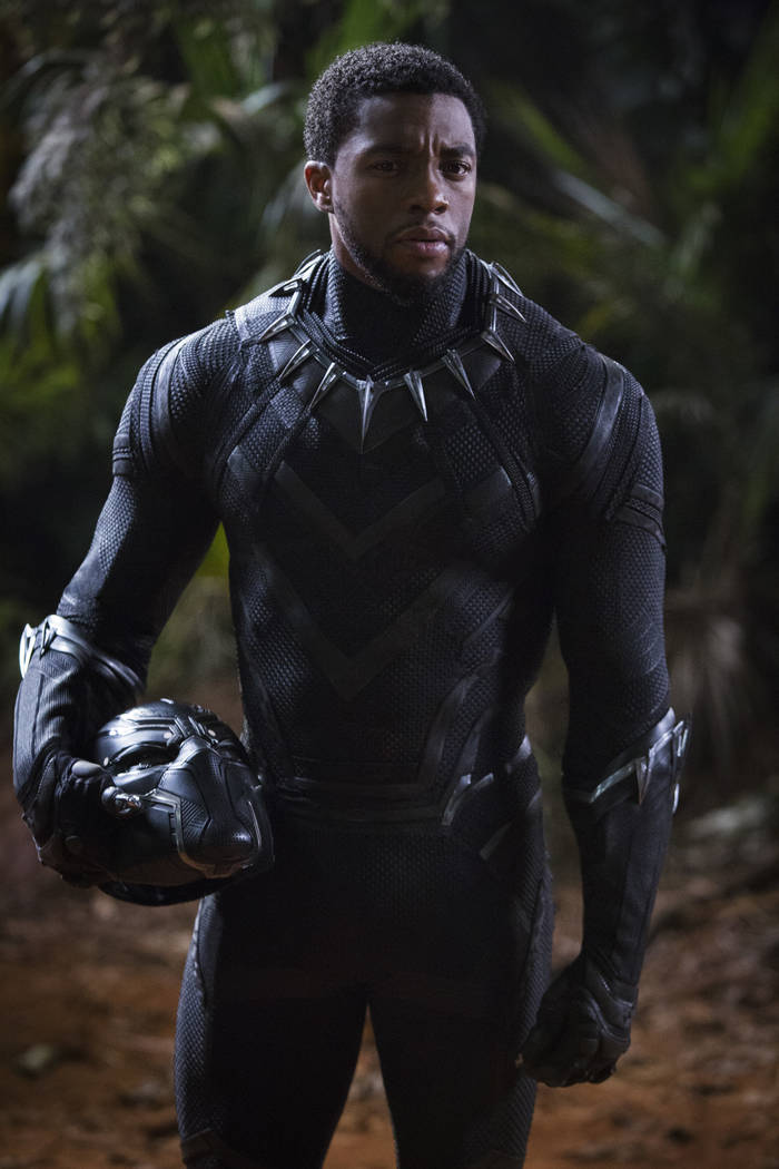 Marvel Studios' BLACK PANTHER..T'Challa/Black Panther (Chadwick Boseman)..Photo: Matt Kennedy..©Marvel Studios 2018