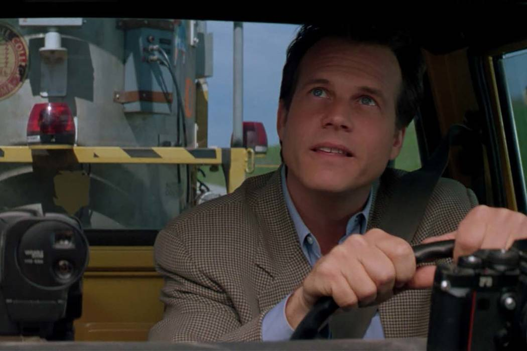 """Bill Paxton in a scene from """"Twister."""" (Warner Bros.)"""