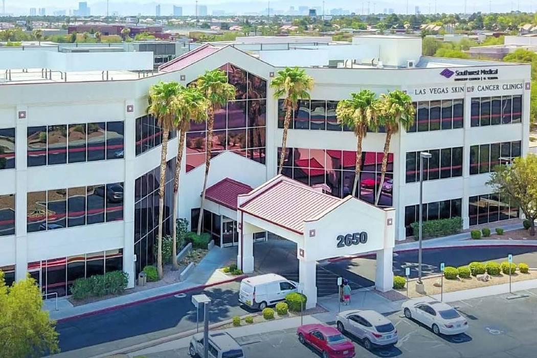Virginia-based Anchor Health Properties bought a health care building at 2650 N. Tenaya Way in Las Vegas.  (Anchor Health Properties)
