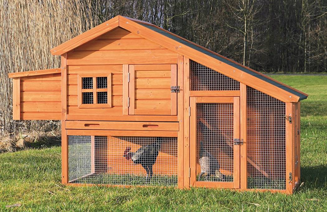 Trixie Trixie offers a line of wooden chicken coops and its products have been sold nationally at Petco, Walmart and Costco.