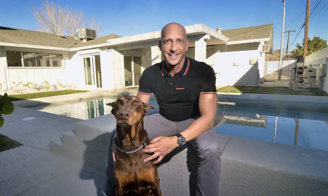 Uri Vaknin calls his pool area his second living room. (Bill Hughes Real Estate Millions)