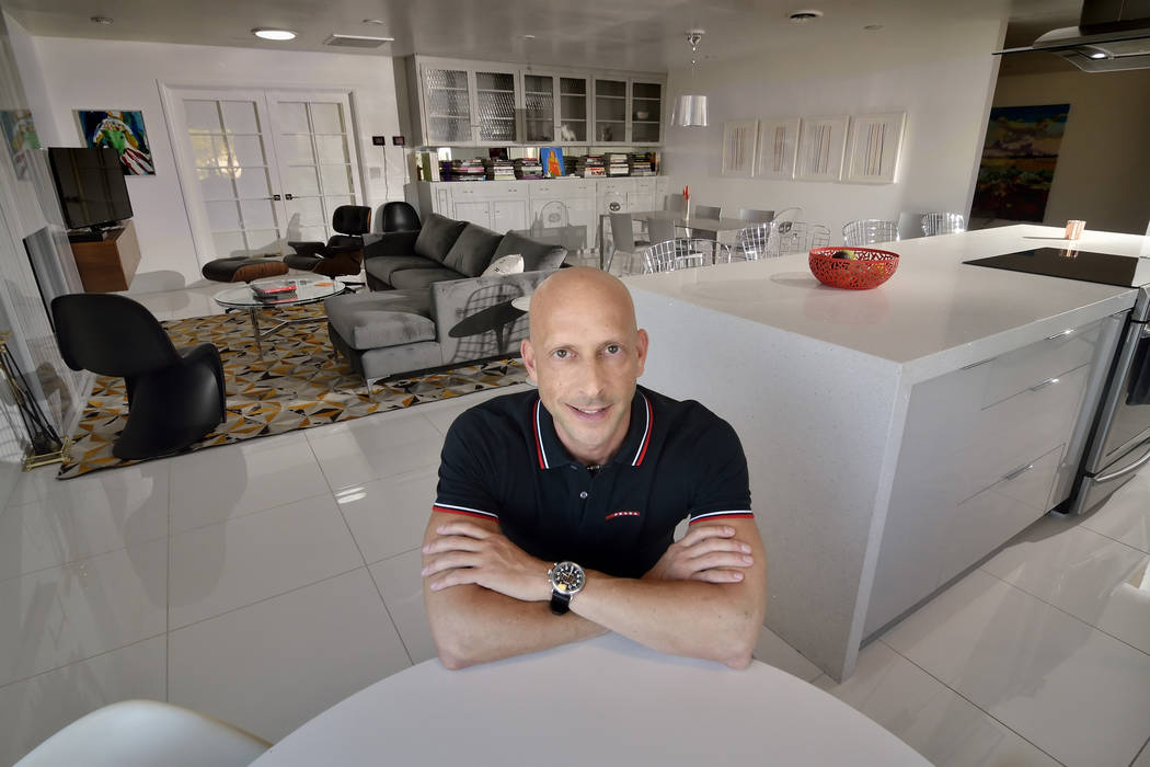 A partner with KRE Capital, which owns The Ogden and Juhl condos in downtown and One Las Vegas on far South Las Vegas Boulevard, Uri Vaknin purchased a home in the Las Vegas historical district do ...
