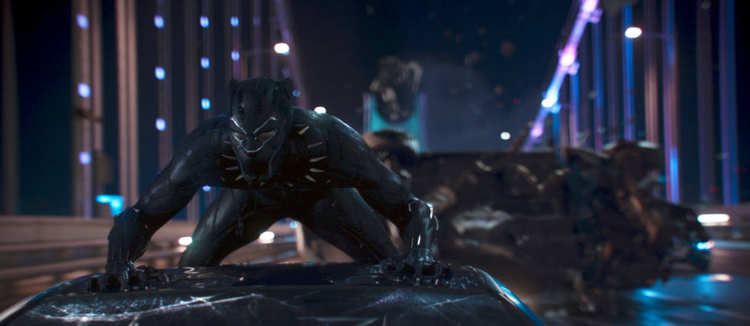 "Marvel Studios' ""Black Panther""  (Chadwick Boseman)..Ph: Film Frame..©Marvel Studios 2018"