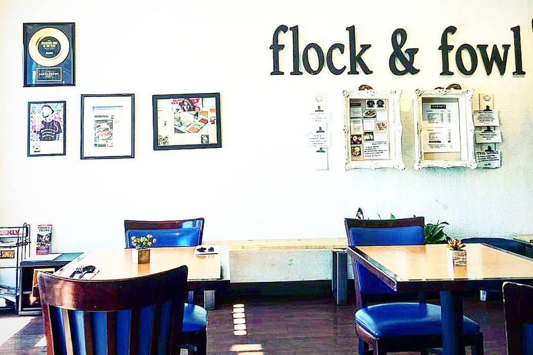 Flock & Fowl at 380 W Sahara (Facebook)