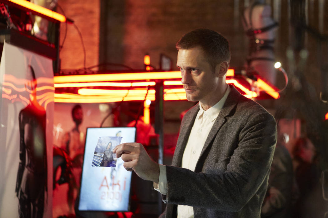 """Alexander Skarsgard stars in """"Mute."""" (Keith Bernstein / Netflix)"""