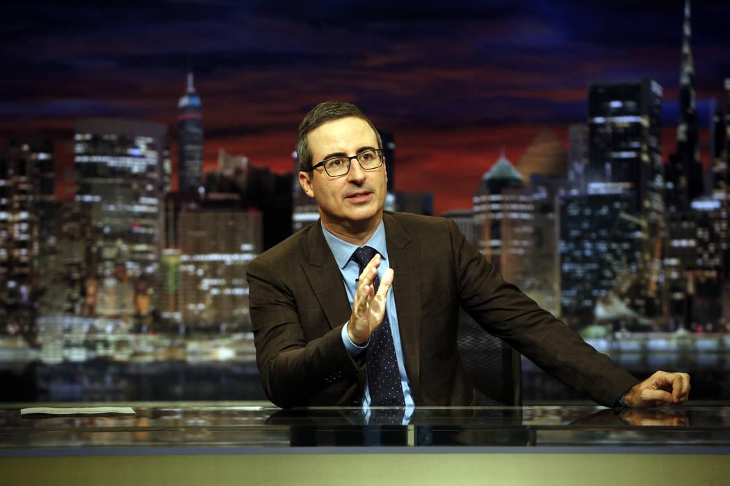 "John Oliver hosts ""Last Week Tonight."" (Eric Liebowitz/HBO_"