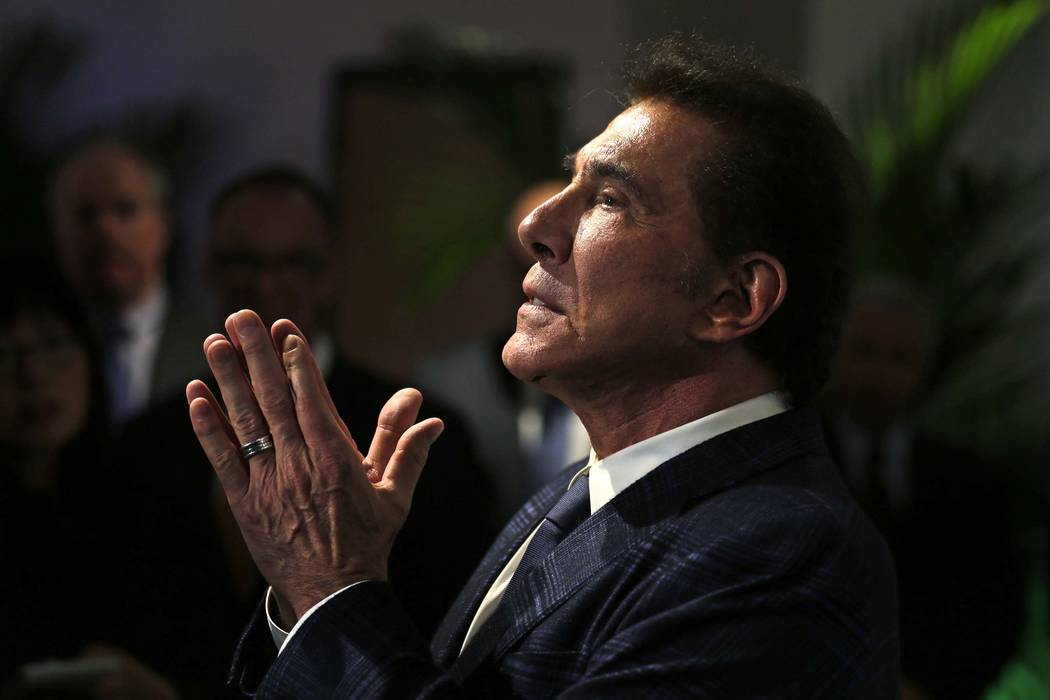 Casino mogul Steve Wynn at a news conference in Medford, Mass., Tuesday, March 15, 2016. (Charles Krupa/AP)