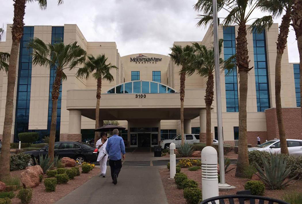 MountainView Hospital, 3100 N. Tenaya Way, in Las Vegas (Las Vegas Review-Journal)