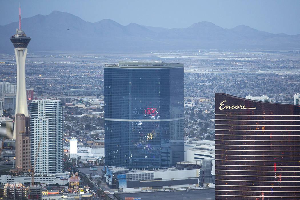 The Drew Las Vegas, formerly the Fontainebleau, on the Las Vegas Strip on Monday, Feb. 12, 2018. (Richard Brian/Las Vegas Review-Journal) @vegasphotograph