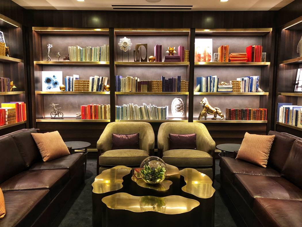 Aria's new convention space features an executive lounge with a study room. Todd Prince/Review-Journal