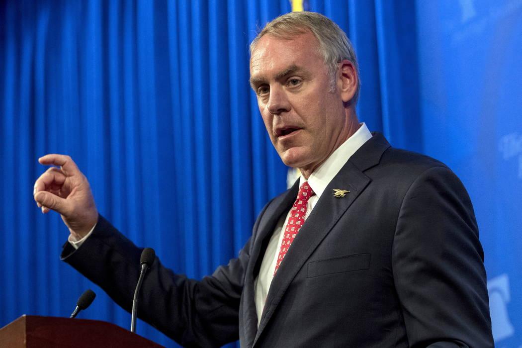 Zinke plans huge overhaul for Interior jobs would move West Las
