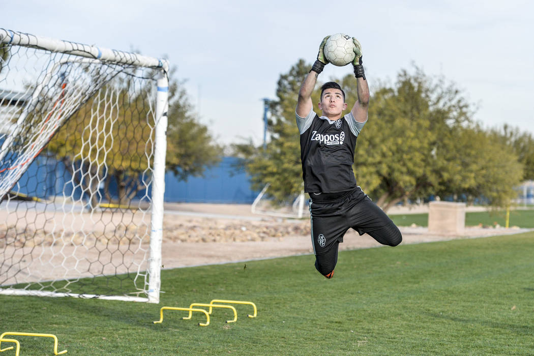 Angel Alvarez. (Lights FC)