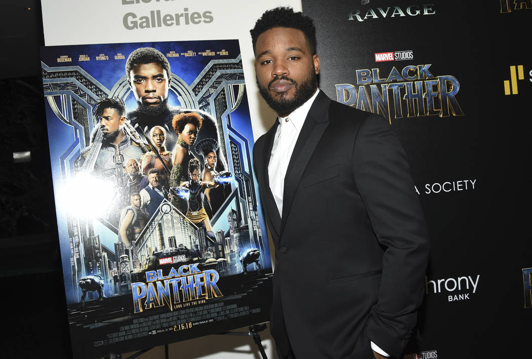 "Director Ryan Coogler attends a special screening of ""Black Panther"" at the Museum of Modern Art on Tuesday, Feb. 13, 2018, in New York. (Photo by Evan Agostini/Invision/AP)"