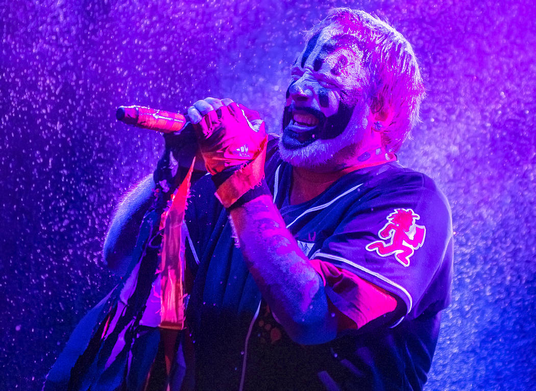 Insane Clown Posse's Shaggy 2 Dope performs during Juggalo Weekend on Saturday, February 17, 2018, at Fremont Country Club, in Las Vegas. Benjamin Hager Las Vegas Review-Journal @benjaminhphoto