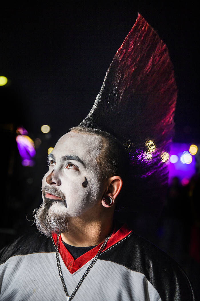 Dylan Illies at Insane Clown Posse's Juggalo Weekend on Saturday, February 17, 2018, at Fremont Country Club, in Las Vegas. Benjamin Hager Las Vegas Review-Journal @benjaminhphoto