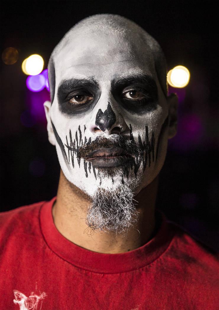 Hurk Quinn at Insane Clown Posse's Juggalo Weekend on Saturday, February 17, 2018, at Fremont Country Club, in Las Vegas. Benjamin Hager Las Vegas Review-Journal @benjaminhphoto