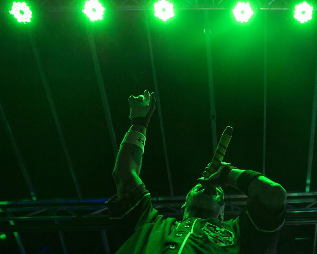 Insane Clown Posse's Violent J performs during Juggalo Weekend on Saturday, February 17, 2018, at Fremont Country Club, in Las Vegas. Benjamin Hager Las Vegas Review-Journal @benjaminhphoto