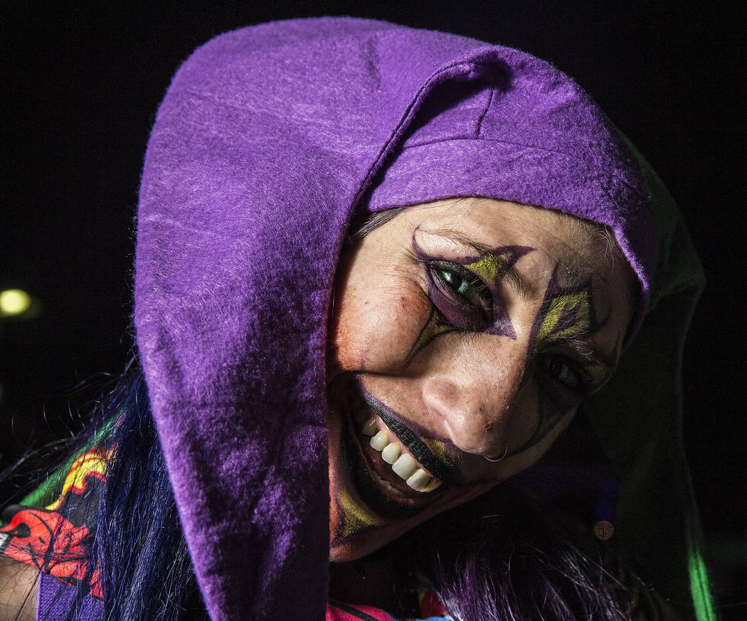 Roxie Carroll at Insane Clown Posse's Juggalo Weekend on Saturday, February 17, 2018, at Fremont Country Club, in Las Vegas. Benjamin Hager Las Vegas Review-Journal @benjaminhphoto