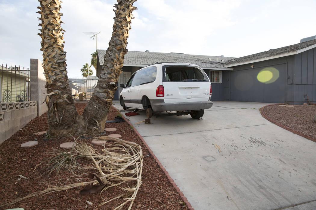 4323 Del Santos Drive in east Las Vegas on Monday, Feb. 19, 2018. Richard Brian Las Vegas Review-Journal @vegasphotograph