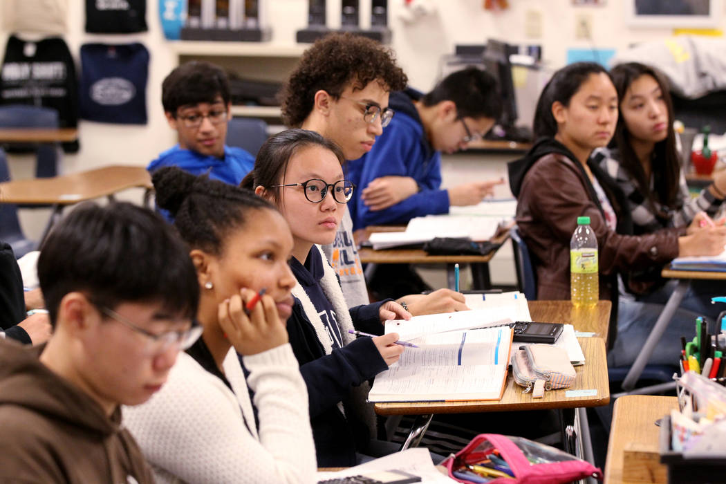 AP exam figures give Nevada rare chance for education celebration