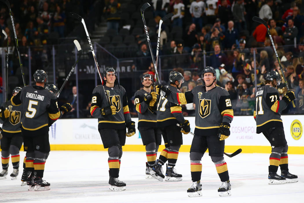 Golden Knights keep savaging Montreal - on and off the ice