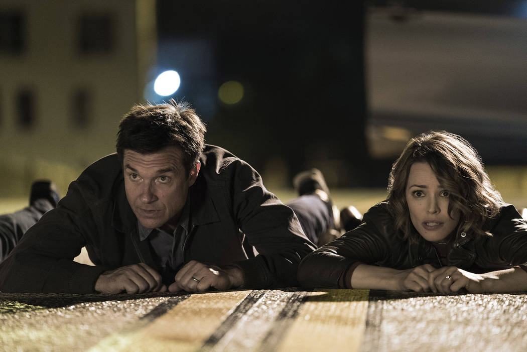 "Jason Bateman as Max and Rachel McAdams as Annie in ""Game Night."" (Hopper Stone/Warner Bros. Pictures)"