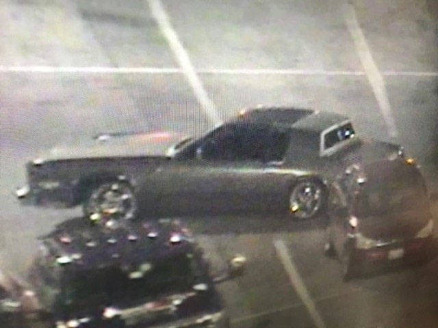 A woman robbed the South Point casino and fled in an older model 2-door gold or brown sedan with a black top and large chrome rims. (Las Vegas Metropolitan Police Department)