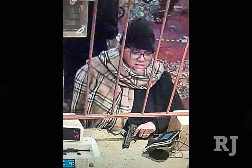 Woman sought in armed robbery at Las Vegas casino