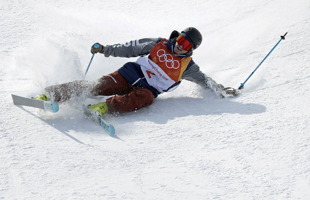Nevadan David Wise advances to Olympic halfpipe ski finals ...