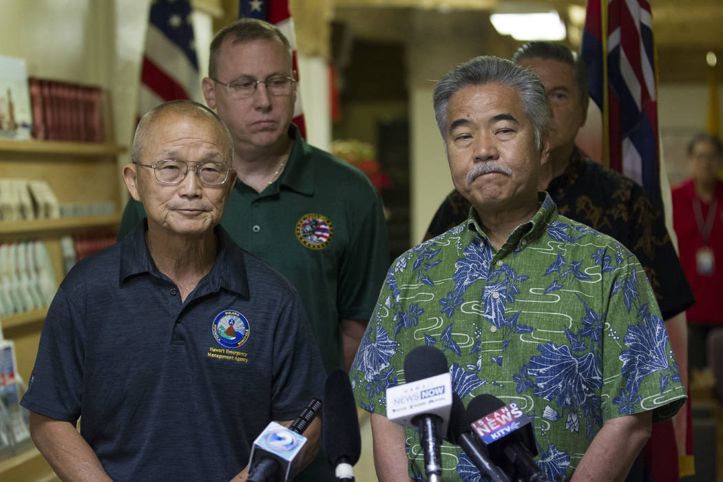 Hawaii didn't have plan ready to manage missile alerts, report says