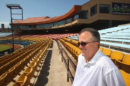 Las Vegas 51s general manager Don Logan is seen at Cashman Field in July 2009. (Las Vegas Review-Journal)