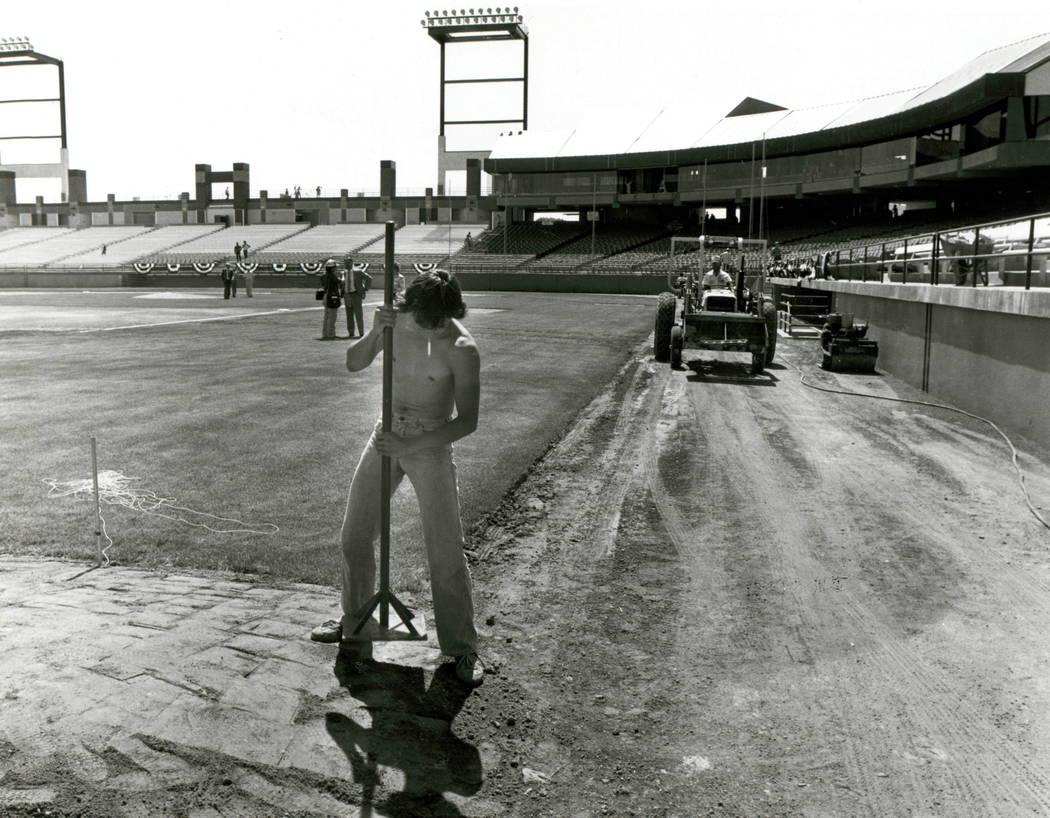 Cashman Field in Las Vegas (Wayne Kodey/Las Vegas Review-Journal)
