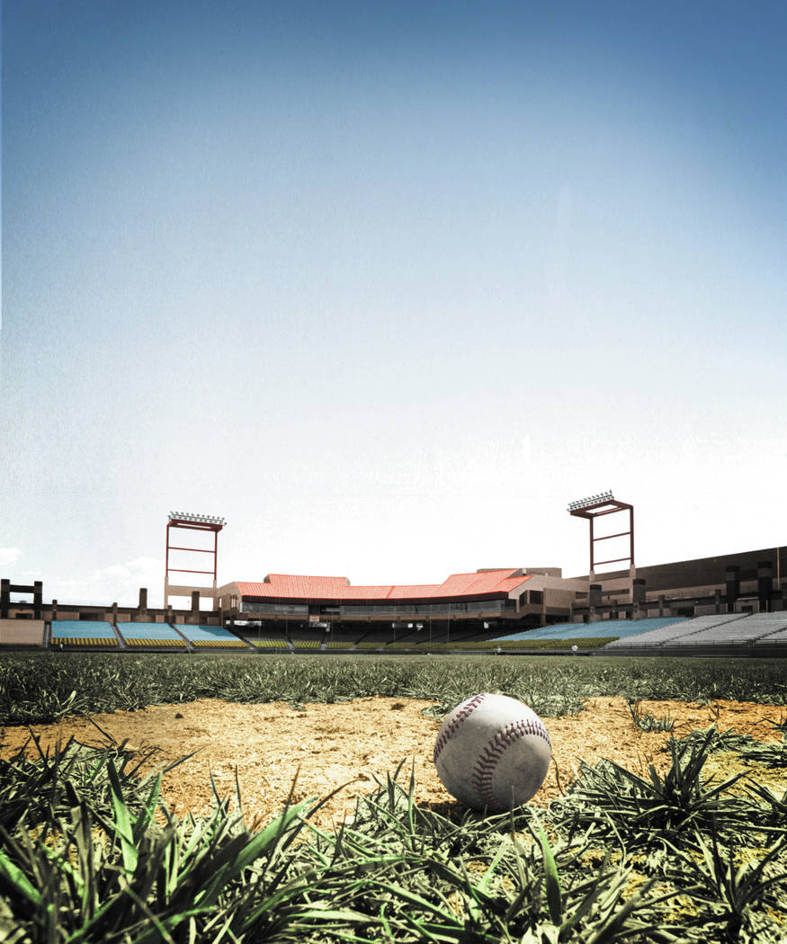 CASHMAN FIELD  - undated  Cashman Field. (Wayne Kodey/Las Vegas Review-Journal)