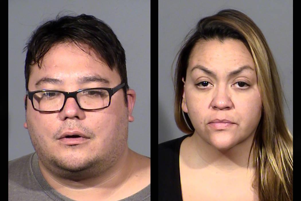 Jason Lockwood and Tina Lopez. (Las Vegas Metropolitan Police Department)